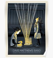 Póster DMB en Nationwide Arena Columbus OH Limitied Edition Design
