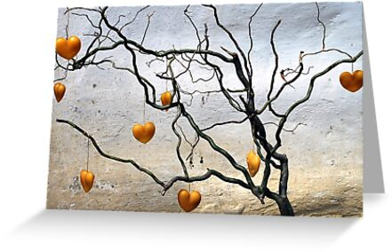 Heart-tree by Arie Koene