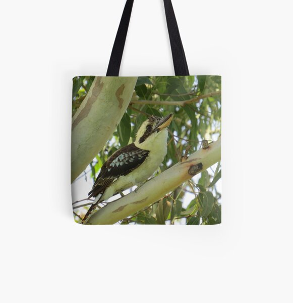Laughing Kookaburra All Over Print Tote Bag