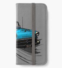 Car Retro Vintage Design iPhone Wallet/Case/Skin