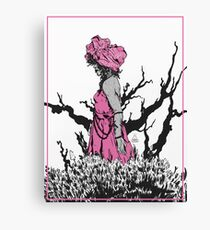 wrapped lady Canvas Print
