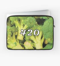 420 Broccoli Weed Funny Blaze It Legalize It Design Laptop Sleeve