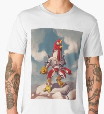 El Pollo Grande: Defender of Atlanta Men's Premium T-Shirt