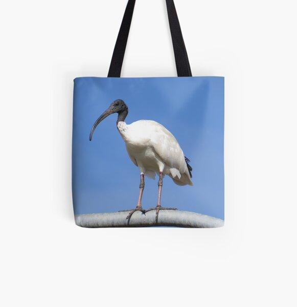 Australian Ibis All Over Print Tote Bag