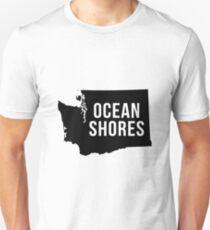Ocean Shores, Washington Silhouette Unisex T-Shirt