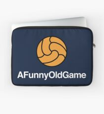 Proper Football - A Funny Old Game Soccer Shirt  Laptop Sleeve