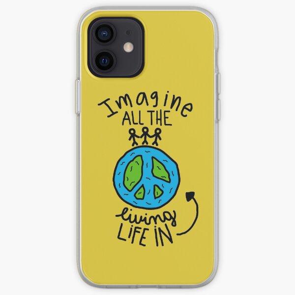 John Lennon iPhone Soft Case