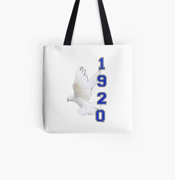 Doves Take Flight - The Roaring 20s by HeavenNezCree All Over Print Tote Bag