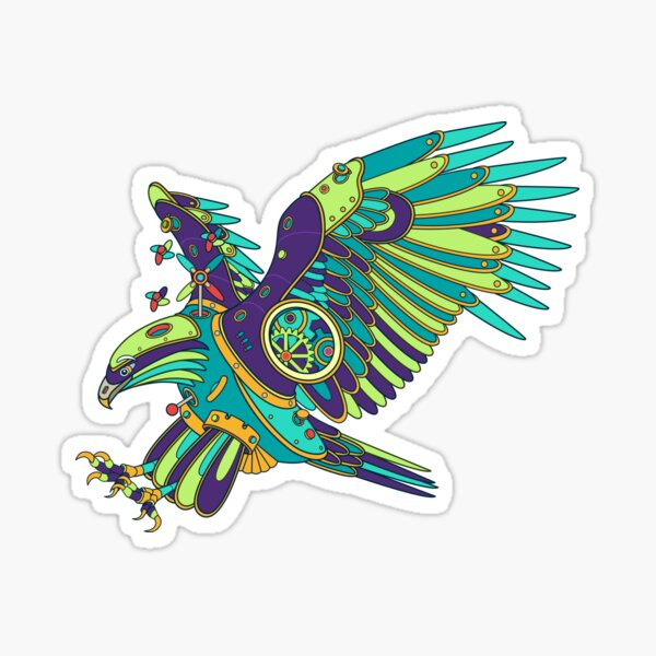 Eagle, from the AlphaPod collection Sticker