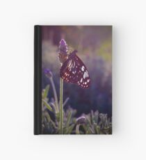 Lavender Butterfly Hardcover Journal
