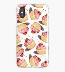 Pink Cupcakes Twirling iPhone Case