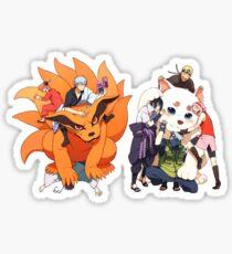 Gintama - Naruto Sticker