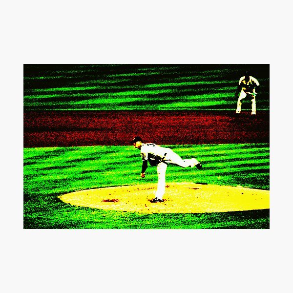 The Pitcher Photographic Print
