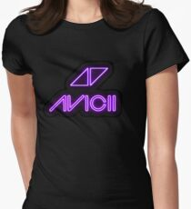 Avicii Neon Women's Fitted T-Shirt