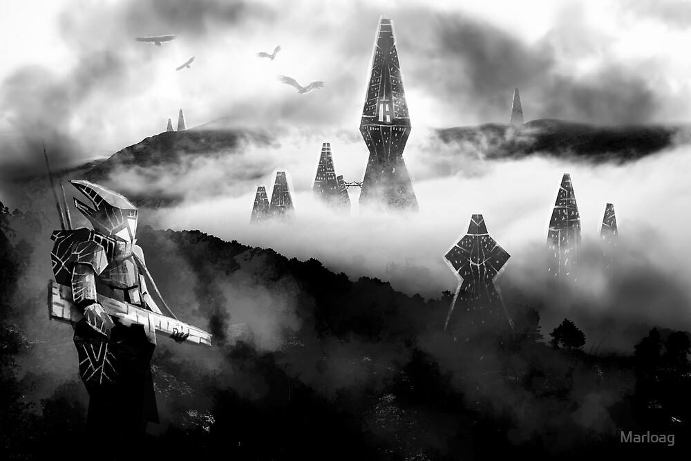 City of the Gods by Marloag