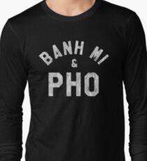 Banh Mi & Pho Shirt for Vietnamese Food Lovers Long Sleeve T-Shirt