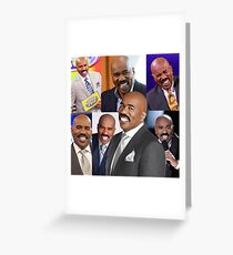 Steve Harvey - Collage  Greeting Card