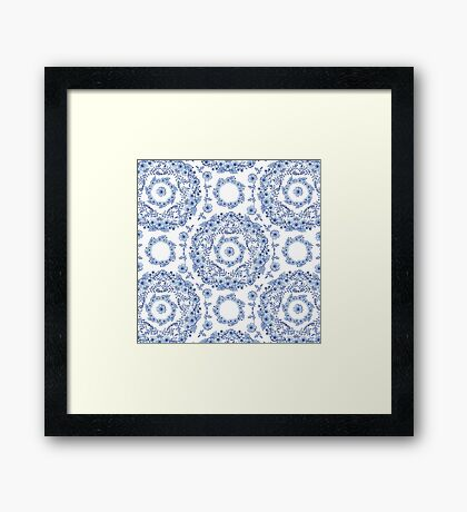 Blue Rhapsody Framed Print
