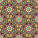 Westminster Mandala Design by PatriciaSheaArt