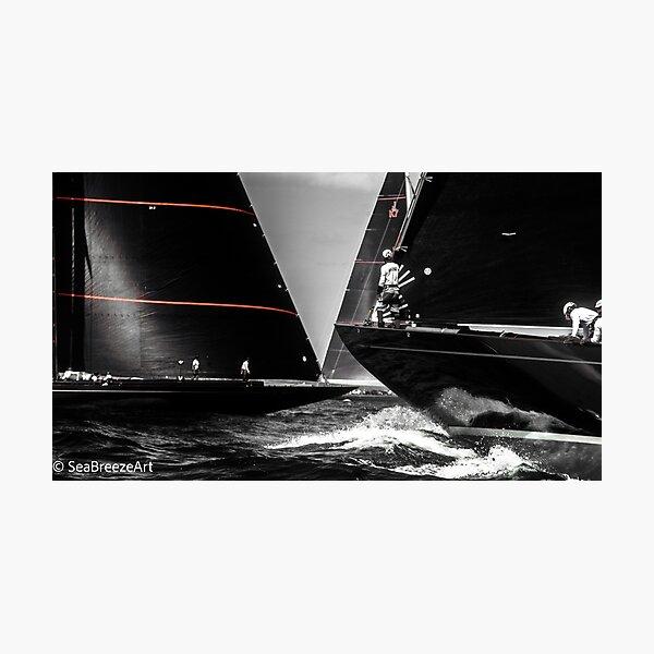 Sailing - J Boats - Regatta Series - 01  Photographic Print