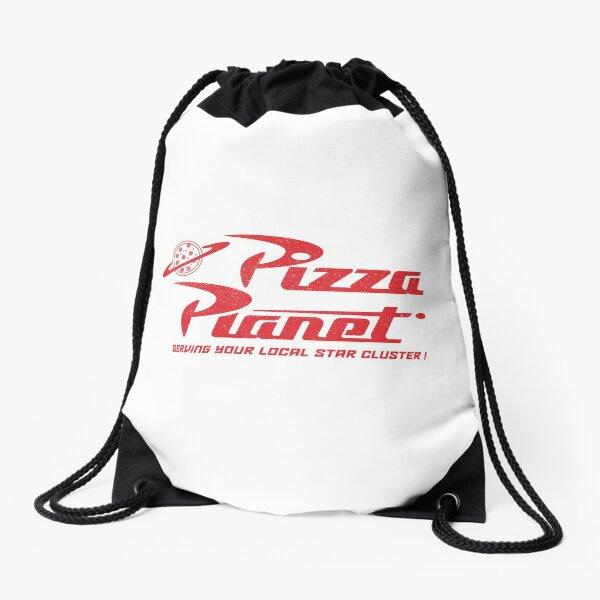Pizza Planet Drawstring Bag