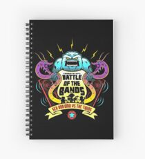 battle of the bands Spiral Notebook