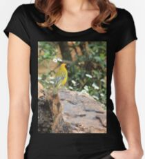 I walk with ... beauty Women's Fitted Scoop T-Shirt
