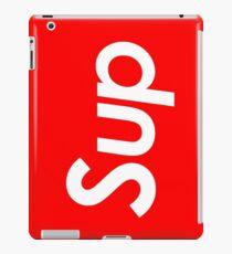 sup white iPad Case/Skin