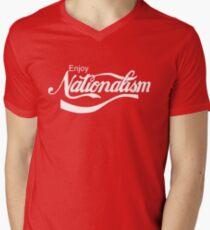 Enjoy Nationalism Men's V-Neck T-Shirt
