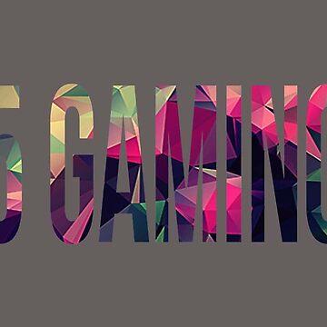 pink 5 gaming logo by 5-gaming