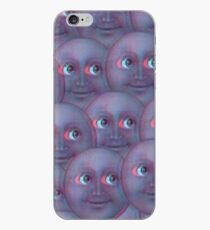 Mond Emoji - Fuzzy iPhone-Hülle & Cover