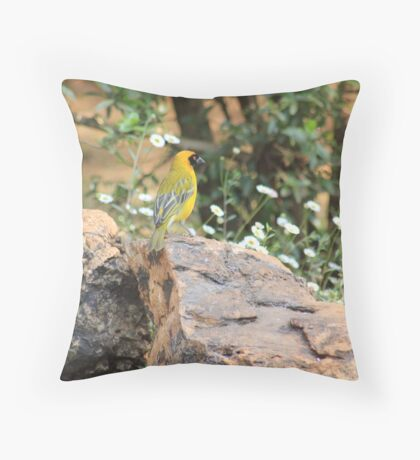 I walk with ... beauty Throw Pillow
