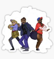 Percy and the Gang Sticker