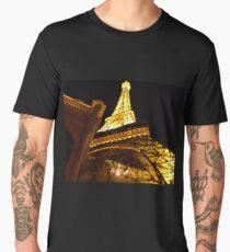 Las Vegas Street view at night Men's Premium T-Shirt