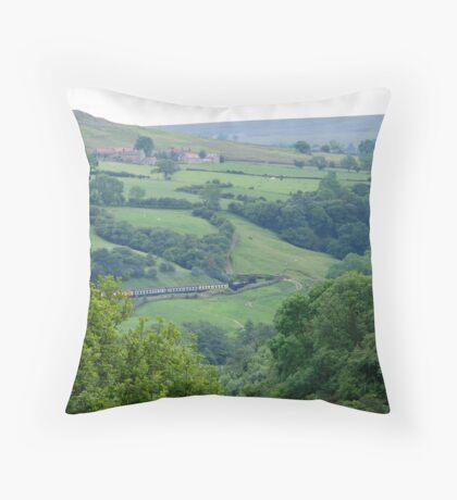 Esk Valley  Throw Pillow