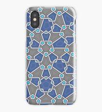 P2 Penta Blue iPhone Case
