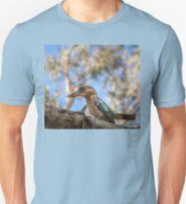 Kingfisher Blue-winged Kookaburra in a tree at Katherine, Australia T-Shirt