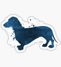 A dachshund Sticker