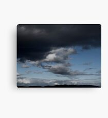 A Dark Day Canvas Print
