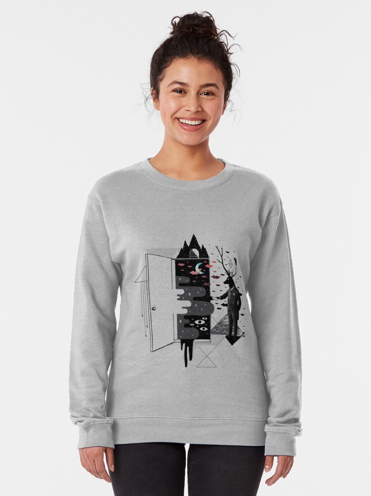 Alternate view of Take it or dream it Pullover Sweatshirt
