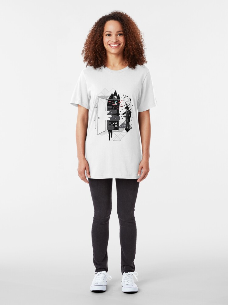 Alternate view of Take it or dream it Slim Fit T-Shirt