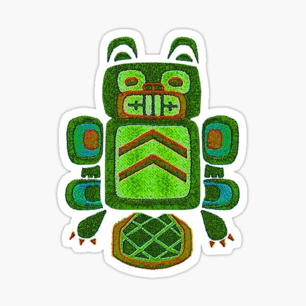 Lime Creation Beaver - Pacific Coast Art Sticker