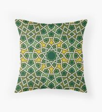 G TS030 Green Throw Pillow