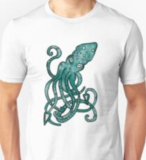 Green Squidly Sequence  T-Shirt