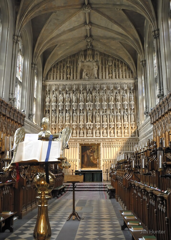 Magdalen College Chapel Oxford by Jim Hunter