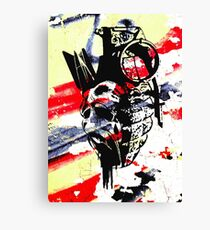 Just the thought of war makes me... Canvas Print