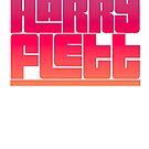 Harry Flett logo by Bydandy