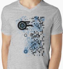 Cool Dotty Dots & Crazy Circles... Men's V-Neck T-Shirt