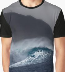 Hula Waves Graphic T-Shirt