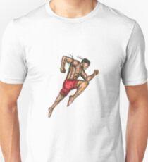 Muay Thai Boxing Fighter Tattoo T-Shirt